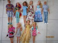 barbie dolls all like new £1-50 each collection is from laira