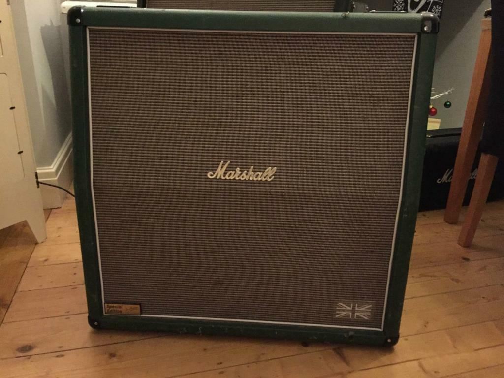 Marshall 1960 1960a 4x12 Cab Speaker Cabinet Special Edition ...