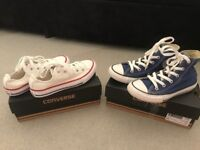 X2 Pairs of Junior Converse size 12