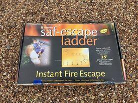 SAF-Escape Fire Escape Ladder, 3 Storey, 25', in original box, unused