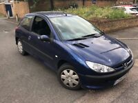 2005 PEUGEOT 206 1.4 AUTOMATIC 40K GENUINE MILES LONG MOT FULL SERVICE HISTORY 2 KEYS DRIVES GREAT
