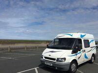 Ford motor caravan. Transit 280 SWB TD