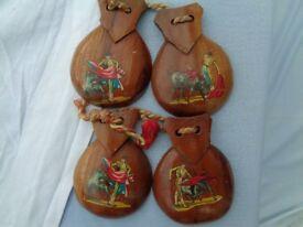 Vintage Wooden Spanish Castanets