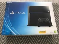 PlayStation PS4 500gb console excellent condition