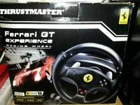 Thrustmaster Ferrari GT Experience Racing Wheel For Ps3