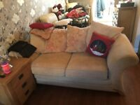 3 Piece suite, sofa bed, 2 armchairs