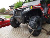 Polaris rzr800 road legal buggy quad