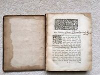 Antique Book Parable of the Pilgrim by Simon Patrick. 1600's.