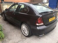 Bmw 320td compact full leather 6 speed spares or repairs
