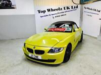 BMW Z4 CONVERTIBLE M SPORT AUTO 2.5, 2006 PLATE, 12 MONTHS MOT & FULL SERVICE HISTORY.