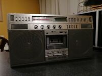 Sharp GF-9797 Radio Cassette Player Boombox Full Working Order AUX £330 OVNO