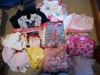 Baby clothes (0-6 months, 240+ items)