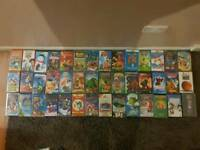 42 X Walt Disney / Childrens Classical Cartoons/Films VHS Tapes Bundle Job Lot