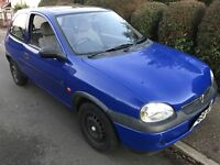 Vauxhall Corsa LS 1.4I Auto 1389cc Petrol Automatic 3 door hatchback R Reg 18/03/1998 Blue