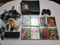 Xbox 360 120GB + 9 Games