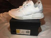 ADIDAS NMD R1 JAPAN TRIPLE WHITE UK7.5