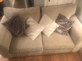 Next 2 seater fabric sofa
