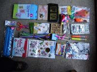 Craft items for kids, variety, most of them are brand new and never used.