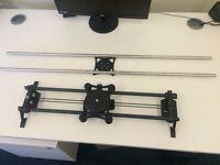 Rhino Ultimate Bundle camera slider inc. tripods and fluid head