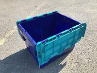 heavy duty plastic storage box