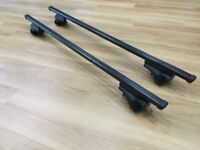 Thule roof bars and rail clamps