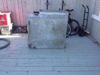 50 gal water /oil or any liquid tank