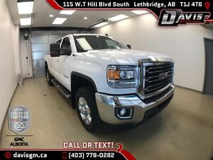 Used 2016 GMC Sierra 2500HD SLE-40/20/40 Split bench, Diesel