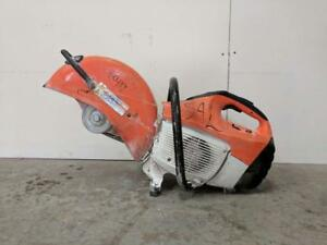HOC STIHL TS420 CONCRETE SAW QUICK CUT OFF SAW FULLY REBUILT + WATER ATTACHMENT + FREE SHIPPING + 30 DAY WARRANTY