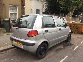 Daweoo Matiz 800 Se Silver Manual Mot tax
