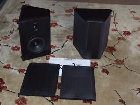 A pair of Gale series 30b (bipolar) surround/back speakers.