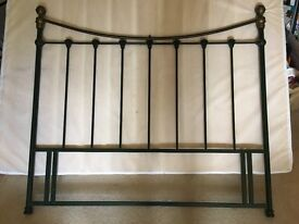 Iron headboard for double bed