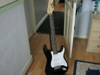 STRAT STYLE GUITAR.