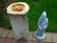 Latex and fibreglass mould WIZARD