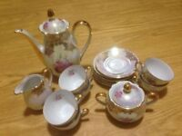 Beautiful Coffee/ Tea pot Set including Cups and Other Essentials