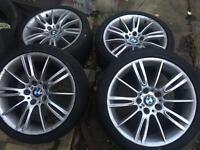 BMW MV3 M SPORT ALLOYS ORIGINAL
