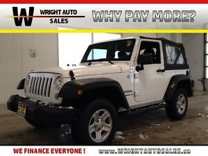 2014 Jeep Wrangler SPORT| 4X4| 6 SPEED| 41,616KMS