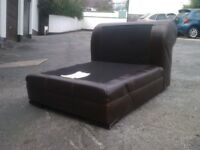 X2 middle parts of a corner sofa DFS Real leather hard back original
