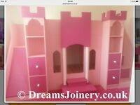 Wanted princess bunk beds
