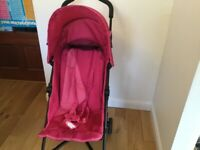 Stroller and raincover for £15