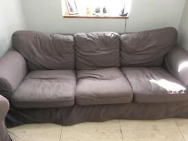 3 seater Ikea sofa- free!!!