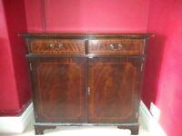 Hardwood (I think mahogany) sideboard/cabinet