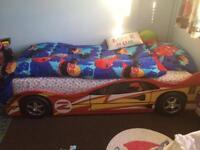 Lightning Macqueen Car Bed