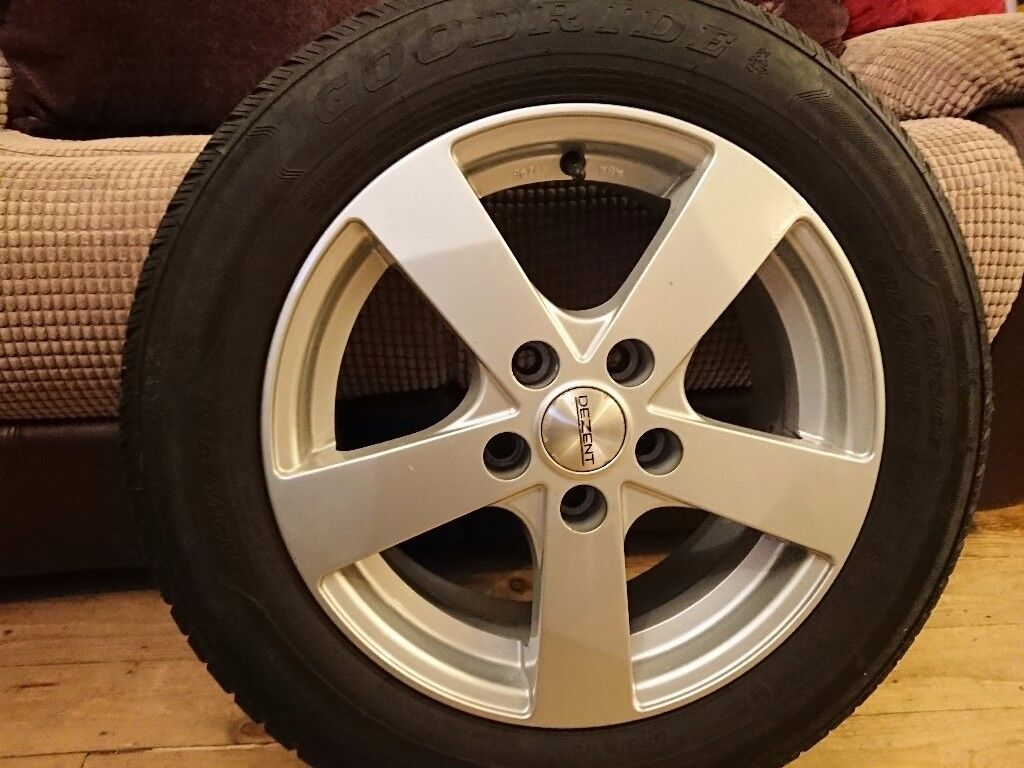 Winter Tyres and Good Alloys - set of 4 for Nissan Juke, Renault Laguna mk3 and others cars
