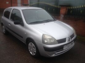 Renault Clio 1.2 rush 55 plate 81k service history