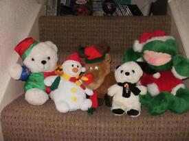 Christmas Teddies