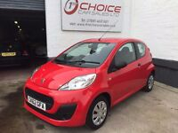 PEUGEOT 1.0 107 ACCESS ** LOW MILEAGE ** ZERO! ROAD TAX ** SERVICE HISTORY **