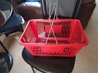 Customer Shopping Baskets for Supermarket Mini Mart Corner Shop etc