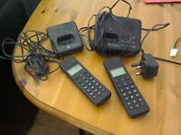 Bt twin cordless phone set with answer phone.