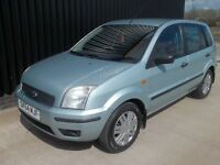 2004 (54) Ford Fusion 1.6 3 5dr 12 Months MOT ,Service History, Low Mileage May Px/Swap
