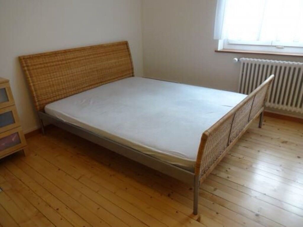 Ikea Sundnes Double Bed Frame And Mattress In Putney London Gumtree